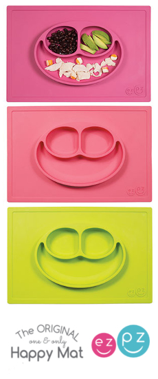 Raspberry Kids and ezpz silicone happy mat placemat