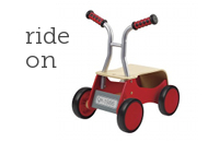 Hape Toys Little Red Rider Ride On Toy