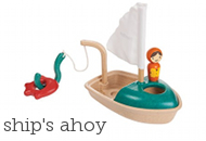Plan Toys Activity Boat