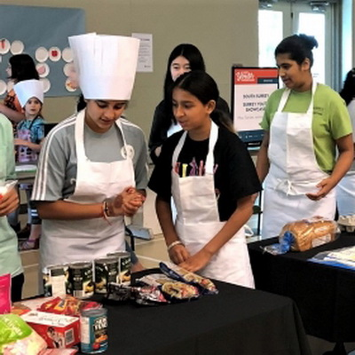 Surrey Youth Showcase: Cooking Competition