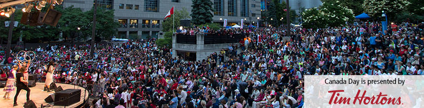 Canada Day at Mel Lastman Square